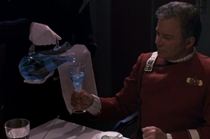 Note to Galley: Romulan Ale no longer to be served at diplomatic functions.