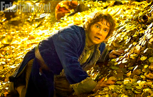 Here's the first image from The Desolation of Smaug.