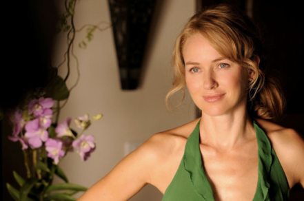 That got really serious, so here's a picture of Naomi Watts looking beautiful to lighten the mood.