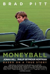 """""""It's hard not to be romantic about baseball."""" -Brad Pitt"""