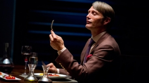 I could watch Mads Mikkelsen eat all day.