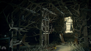 Also, did I mention that the antler room was super f*cking creepy? Because it is.