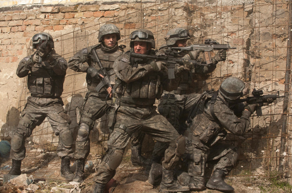 This is eerily similar to a still from my Zero Dark Thirty review...