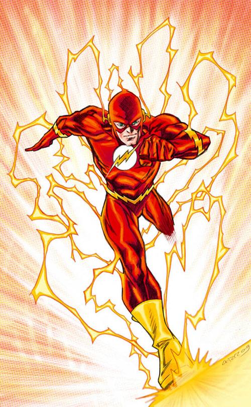 the flash terminal velocity cbr