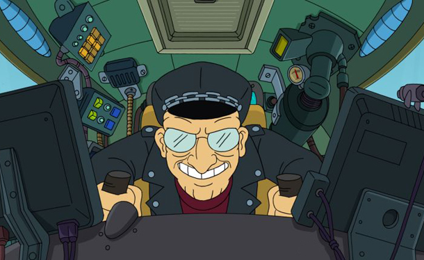 Farnsworth's got a need for speed.