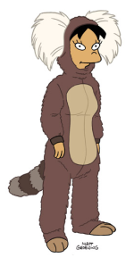 I think Amy makes a wonderful marmoset.