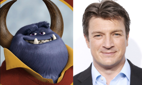 Also, Nathan Fillion voices this monster.