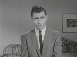 I'll never forget how Rod Serling helped me overcome my fear of unibrows.