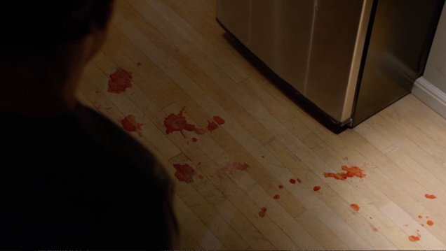 Looks like blood to me!