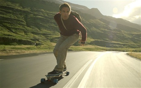 Perhaps by something more practical than a longboard, though. http://bit.ly/KJNGB3