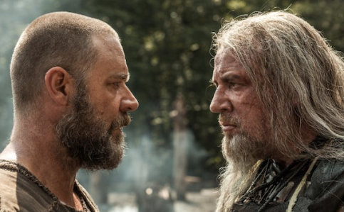 Noah: a story about grizzly old men who hang out with disproportionately attractive young people. Source