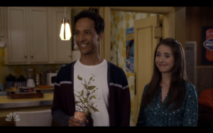 Just keep smiling, Abed.