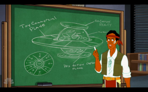 """Make sure to throw in a scene where Abed gets everything, like in every dream land episode."""