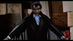 It' also worth noting that despite the existence of Dracula films in this universe, no one ever questions the dude dressed exactly like him. -Source