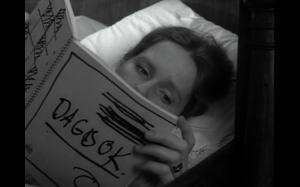 Svensk Filmindustri Jesus, Alma, you don't just read someone else's Dagbok.