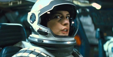 Warner Bros. And here's a picture of Anne Hathaway. IN SPACE.