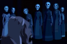 IDT Entertainment Shortcomings do not include: spooky scary skeletons.