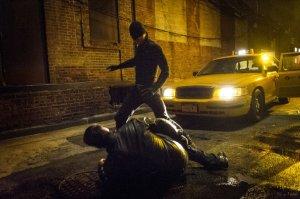 ABC Studios, DeKnight Productions, Goodard Textiles Hitting beats, hitting thugs. Just a lot of hitting happens, guys.