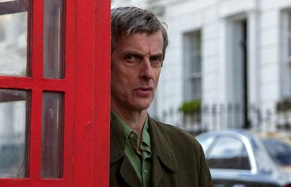 StudioCanal References like putting Peter Capaldi in a phone booth.