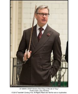 Feigco Entertainment, 20th Century Fox This isn't really related, but check out how dapper Paul Feig is, you guys.