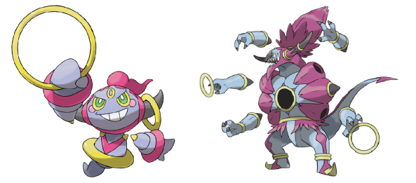 hoopa confined and unbound