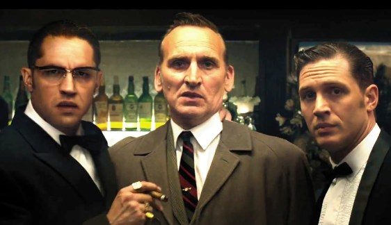 StudioCanal Once again, Christopher Eccleston's expression pretty much says it all.