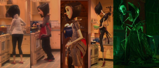 coraline other mother transform