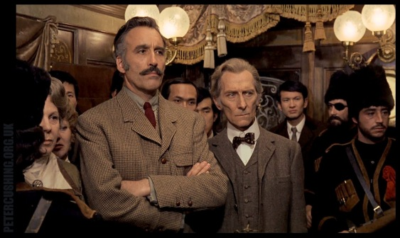Granada Films I forgot to mention Christopher Lee's incredible 'stache.
