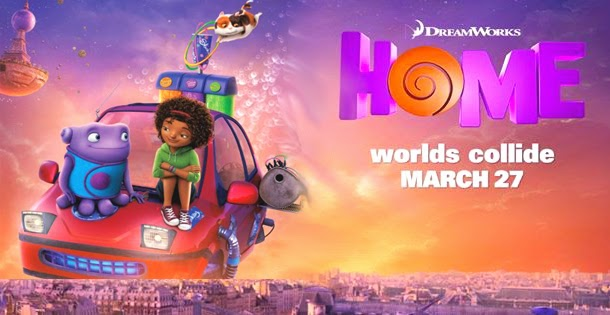 """Movie Posters 2015: Saturday Morning Cartoons: We Need More Films Like """"Home"""