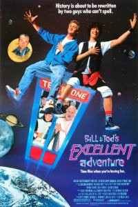 bill & ted poster