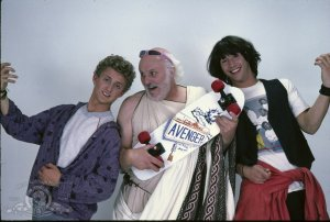 bill & ted so-crates