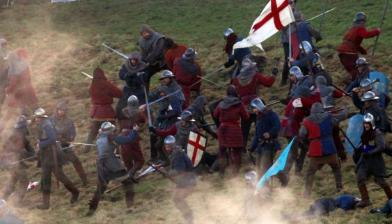 BBC And in the end it's every bit as confusing and messy as their halfhearted battle scenes.